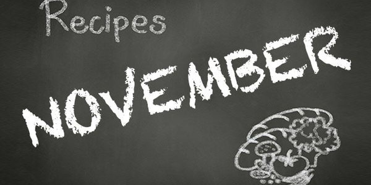 November 2017 Recipes