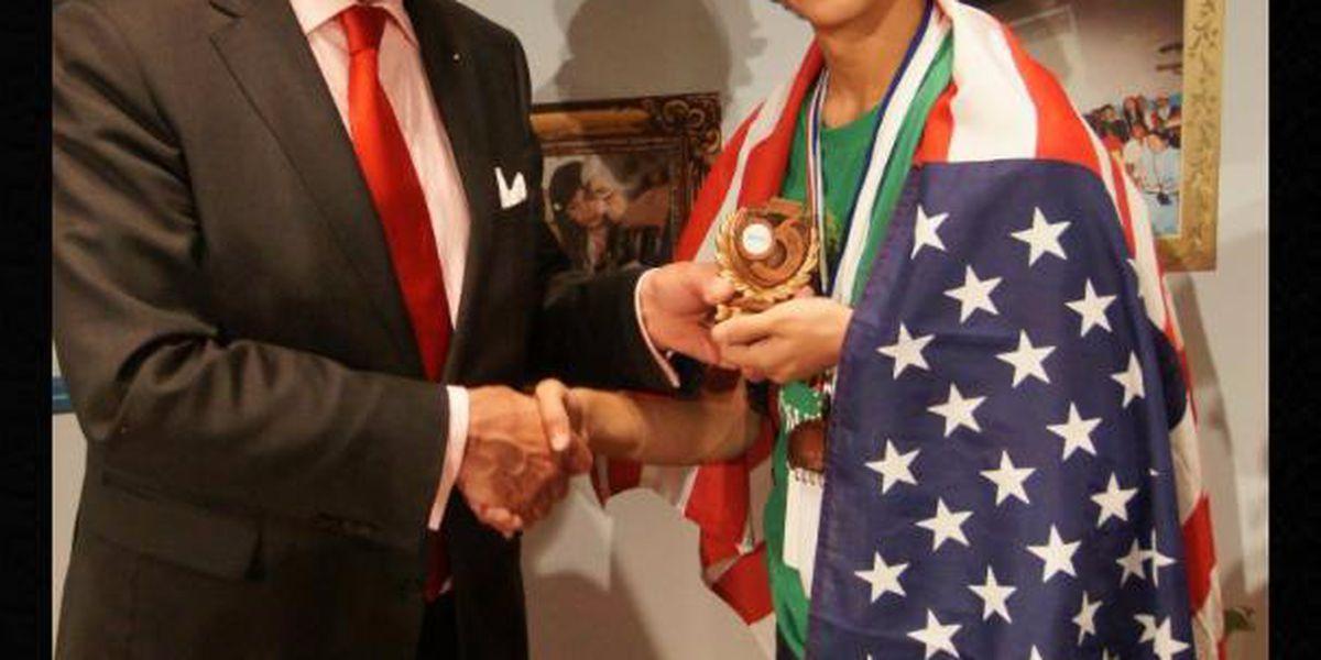 8th Grader Bronze Medalist in International Science Contest