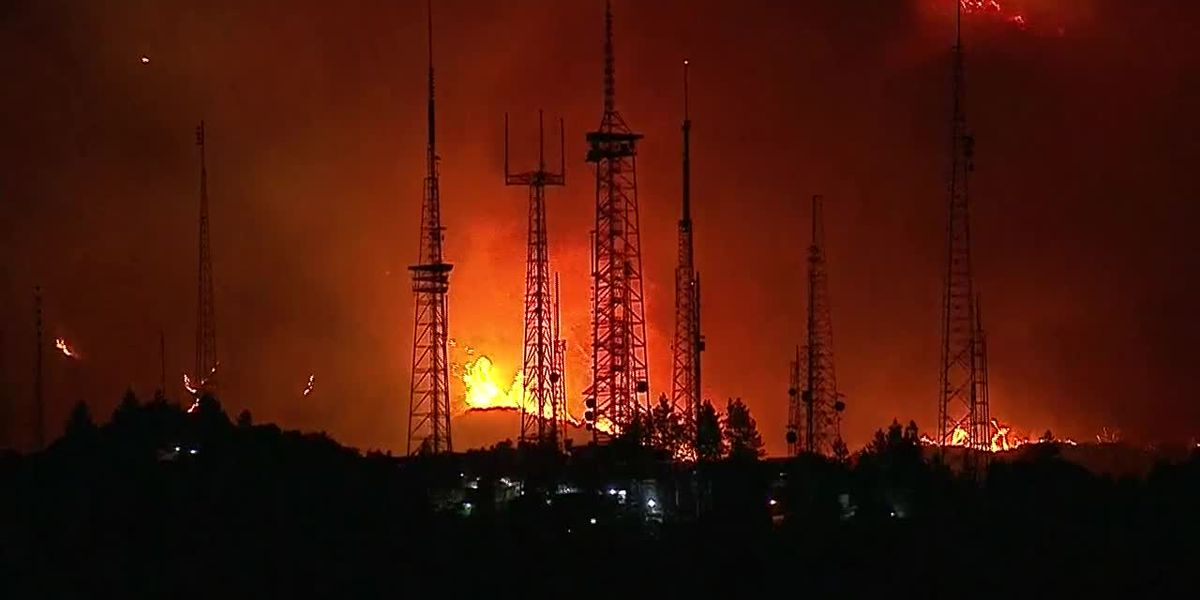The Bobcat Fire has now burned more than 105,000 acres in Los Angeles County, Calif.