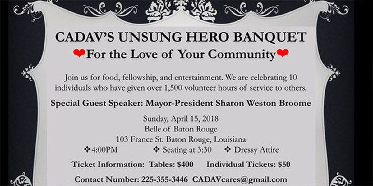 Mayor to speak at fundraising event honoring 'unsung heroes'