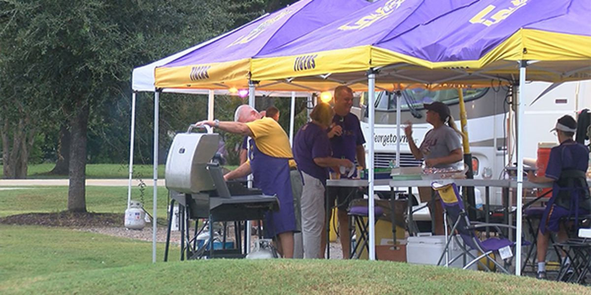 Tailgating for LSU Greeks at houses, Parade Grounds banned for remainder of season