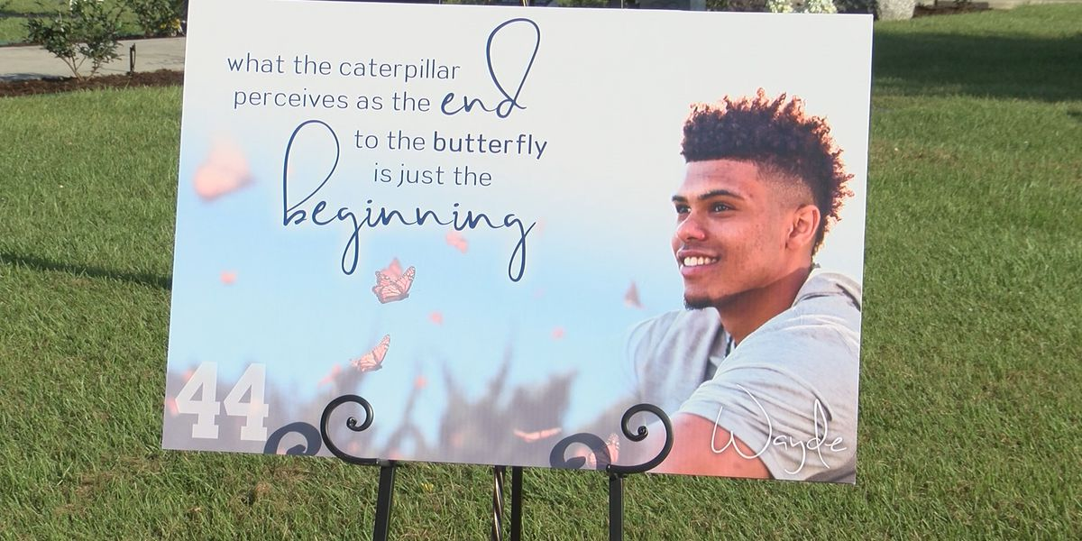 Life of LSU athlete Wayde Sims celebrated with butterfly release one year after death