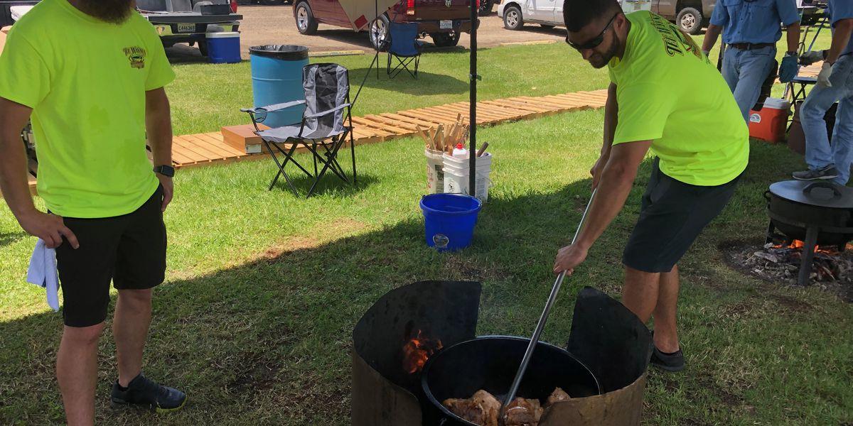 Gonzales Jambalaya Festival kicks off; cooks remember Tee Wayne Abshire