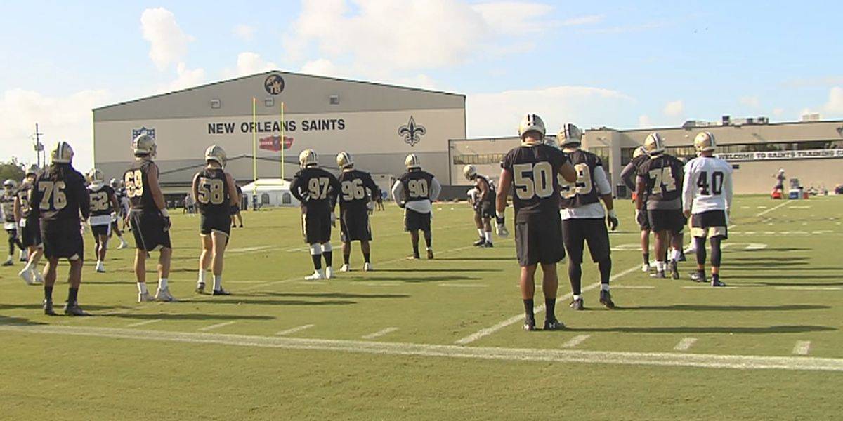 Saints players talk about individual and collective focus early in training camp
