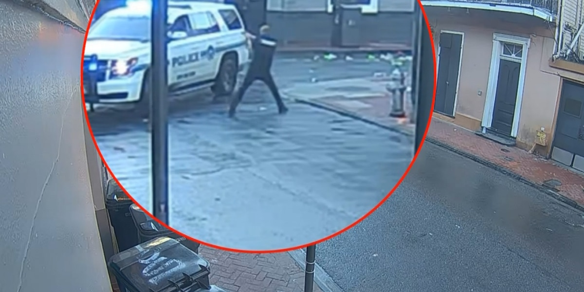 GRAPHIC: NOPD releases video from officer-involved shooting in the French Quarter