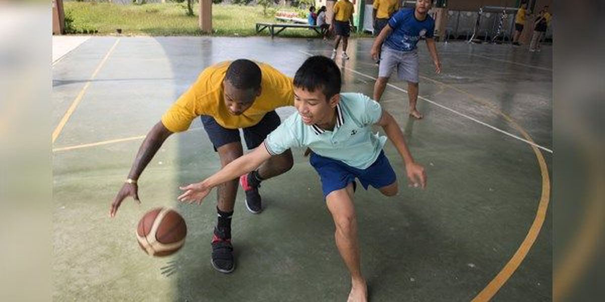 Baton Rouge native participates in U.S. Navy community outreach in Thailand