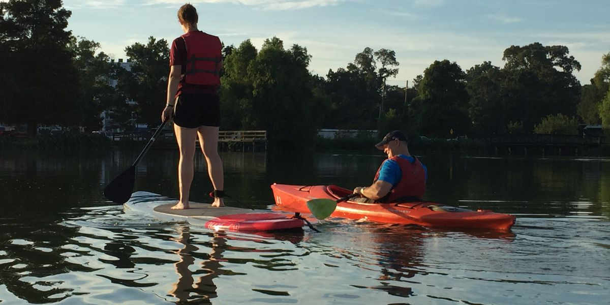 BREC offers 'sunset paddle' event among other Outdoor Adventure programs