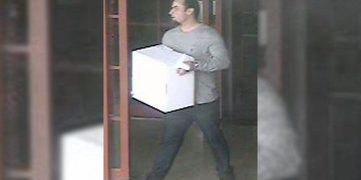 WANTED: Man sought for reportedly using fraudulent credit cards to buy $3K of merchandise
