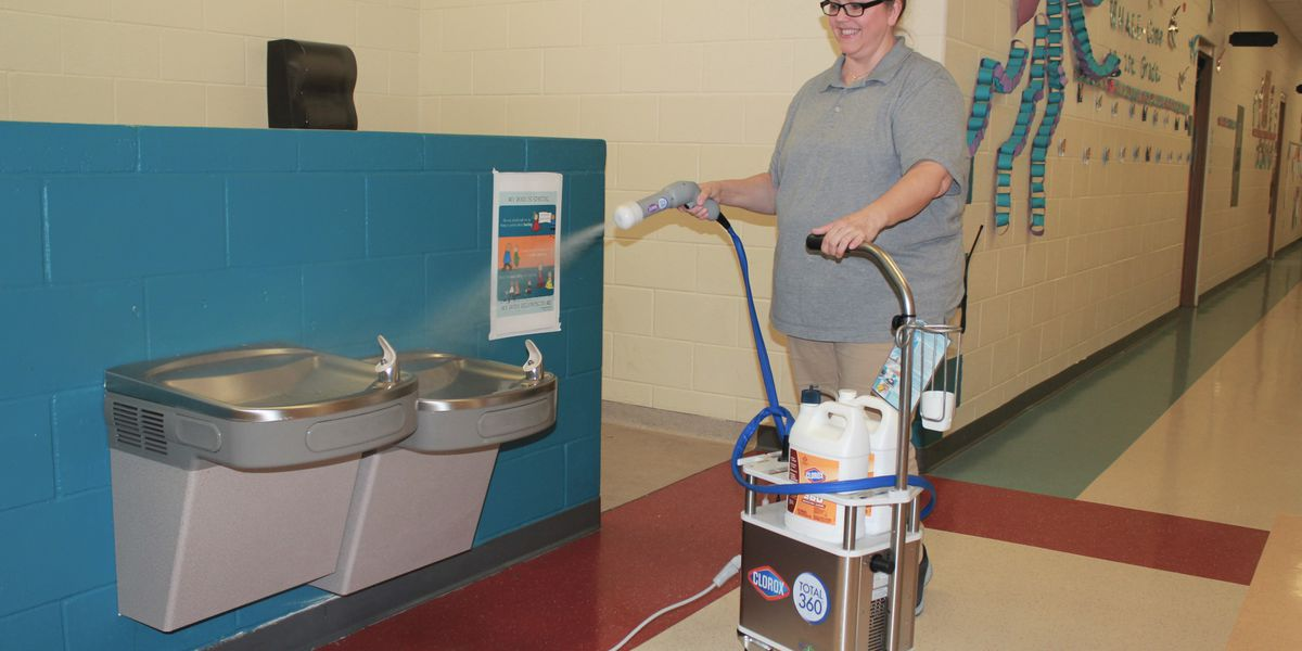 Livingston Parish schools using new cleaning machines to protect campuses from viruses, illnesses