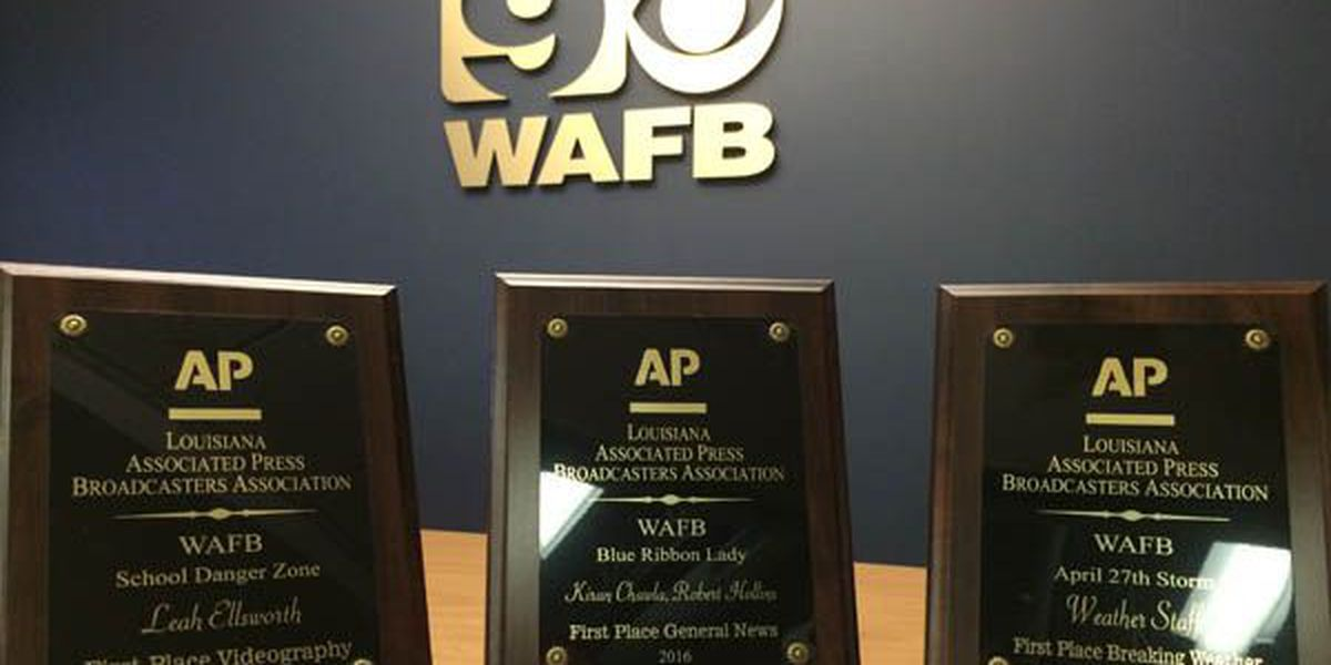 WAFB takes home 10 Associated Press awards