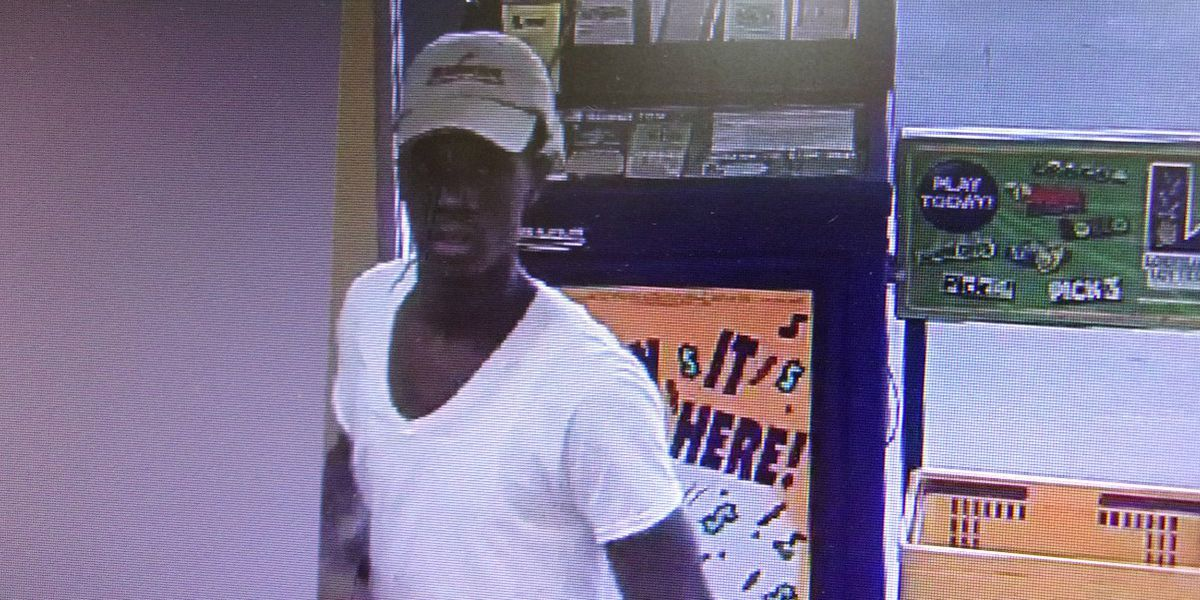 APSO seeking person accused of stealing Crown Royal from gas station