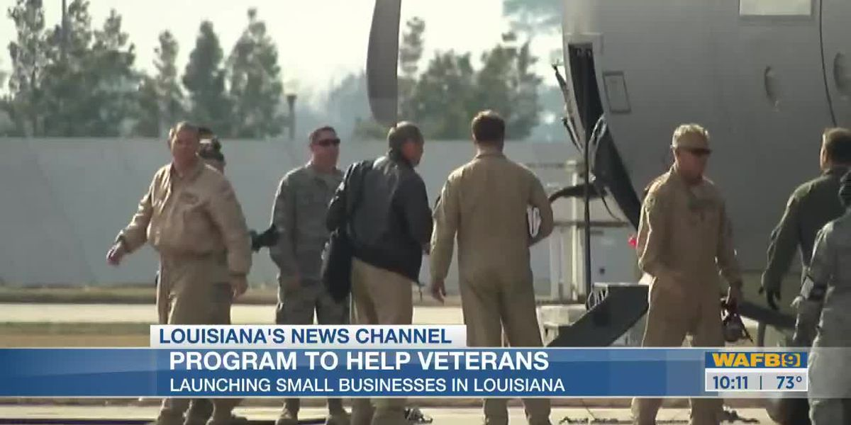 New program launches in La. to help veterans who launch small businesses