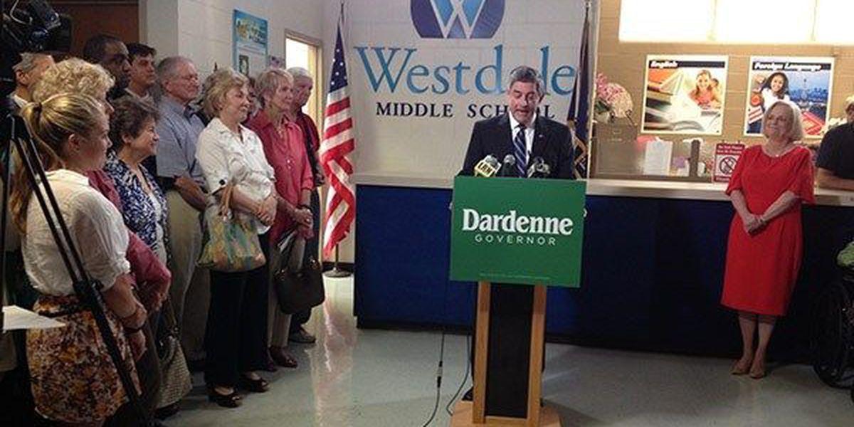 Dardenne officially announces run for Louisiana governor