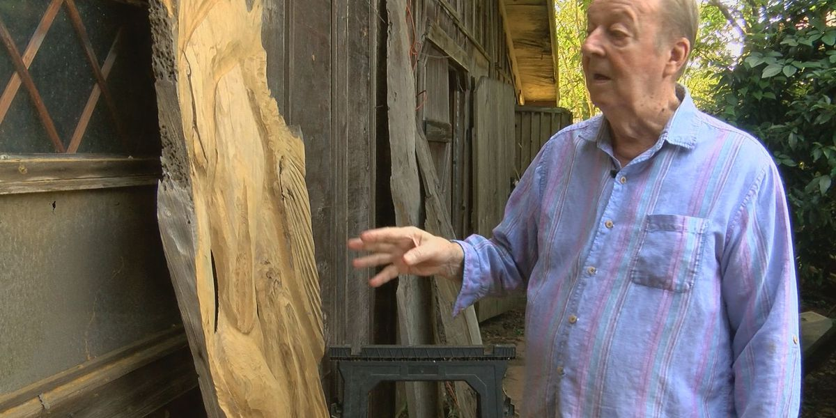 Trailer containing lifelong works stolen from elderly artist's home in Magnolia Woods neighborhood