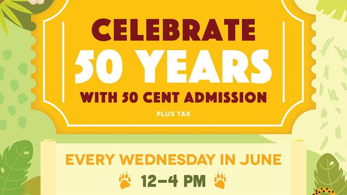 BREC's Baton Rouge Zoo extends 50-cent admission hours in June