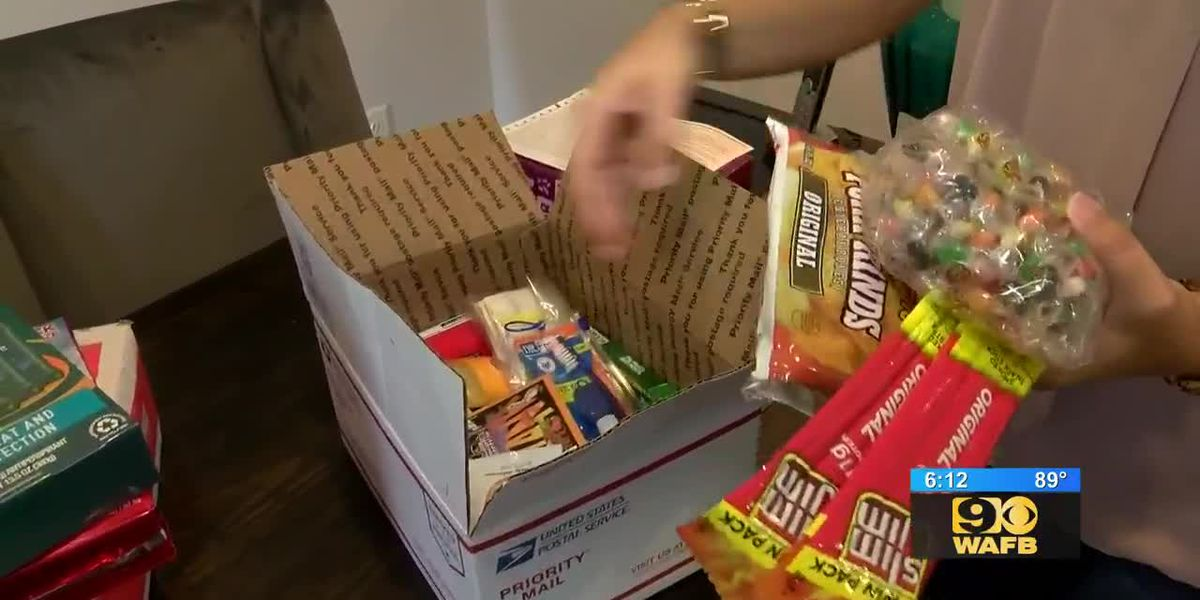 How you can send care packages to U.S. troops overseas