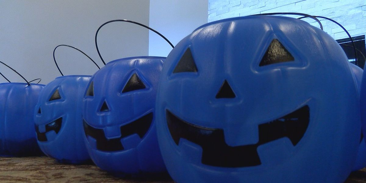 Parent, non-profit collect blue pumpkins for autism awareness: 'Inclusiveness is what we're hoping for'