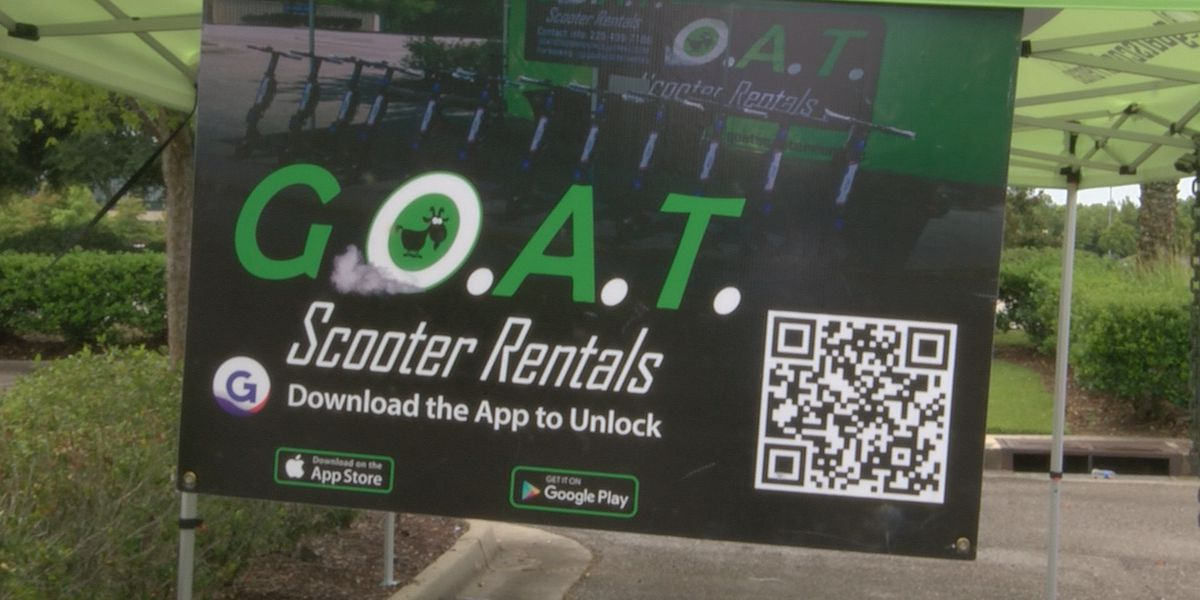 Dockless scooter rental spotted in Baton Rouge