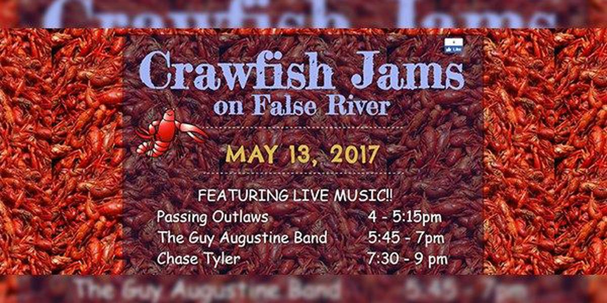 New Roads to host Crawfish Jams festival Mother's Day weekend