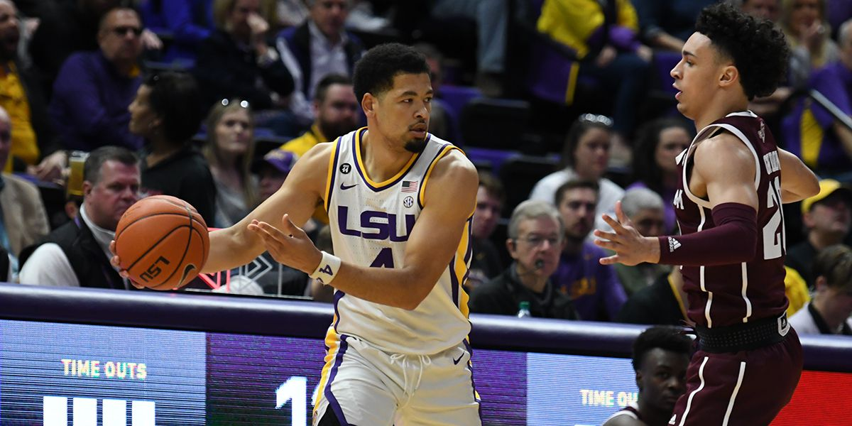 Mays powers LSU to double-digit win over Texas A&M