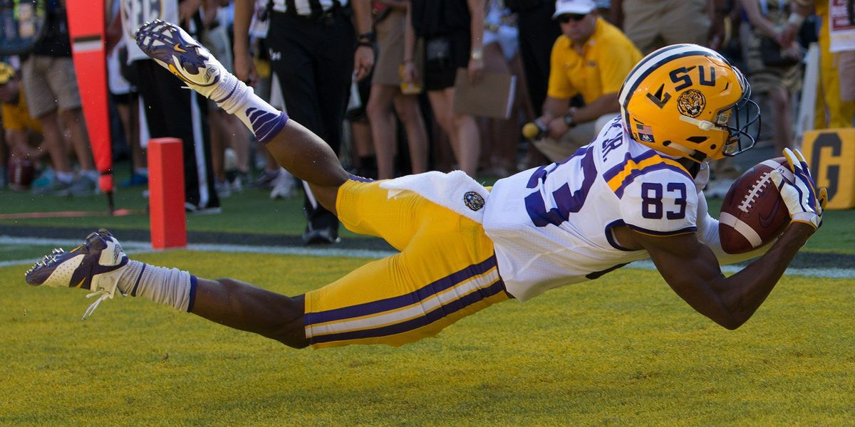 Russell Gage Jr. making big plays for LSU in different ways