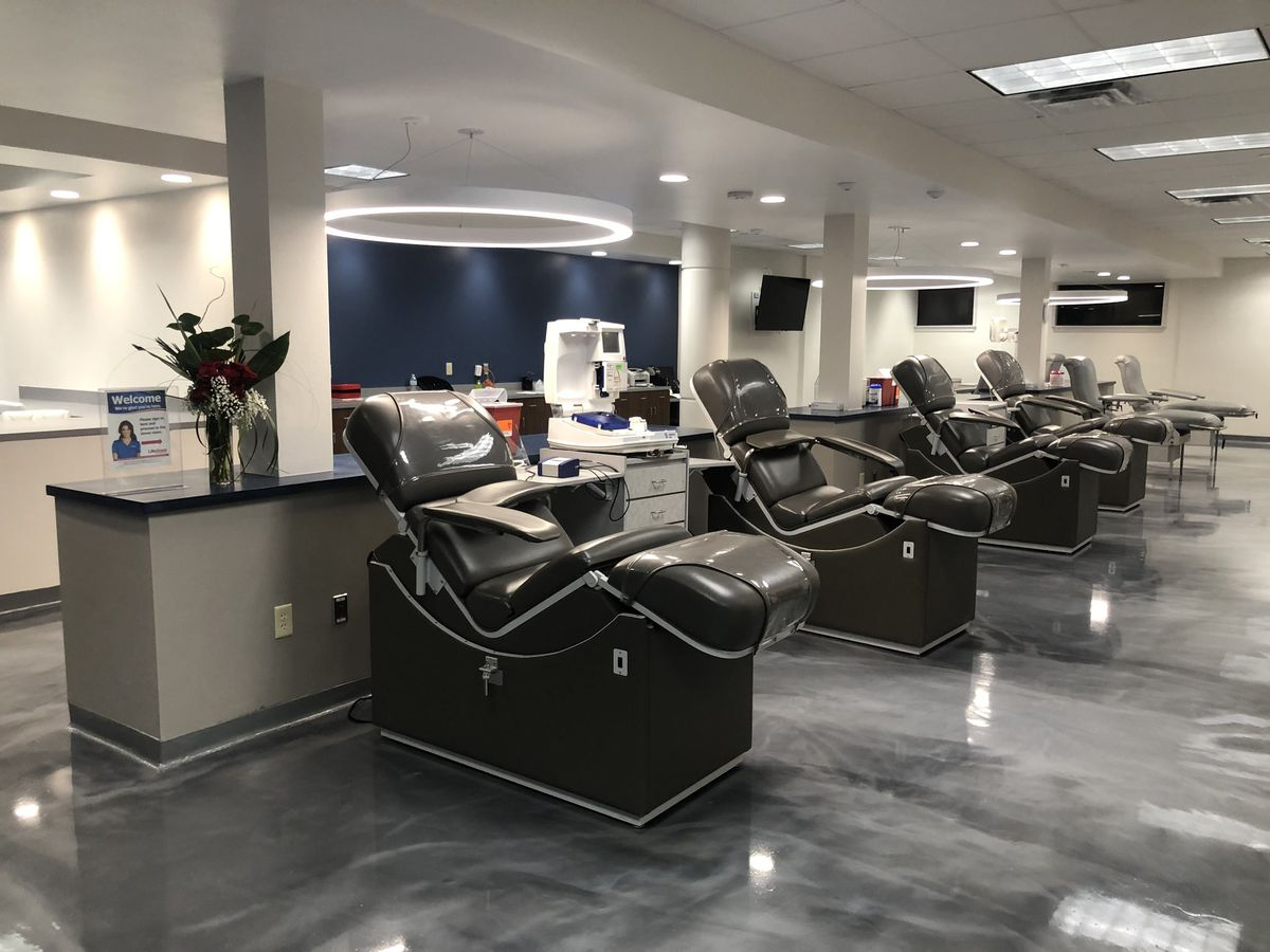Grand opening held Tuesday for new LifeShare Blood Center