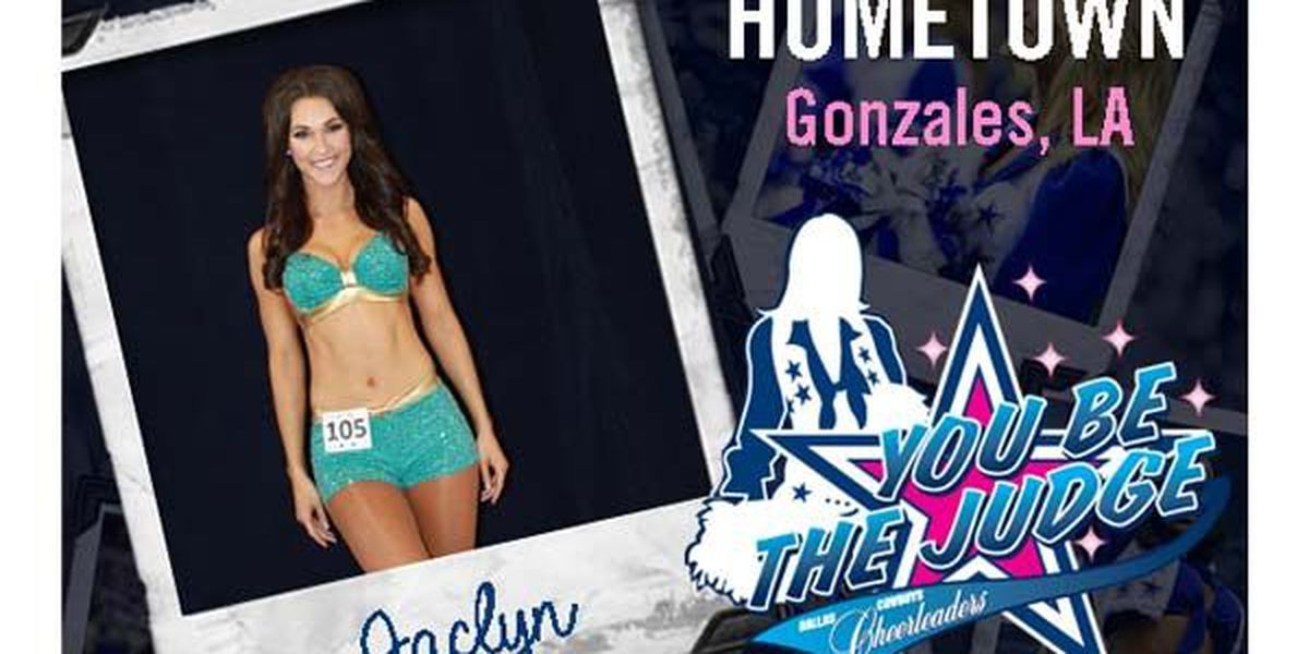 Fmr. LSU Golden Girl Captain needs your vote for the Dallas Cowboy Cheerleader training camp