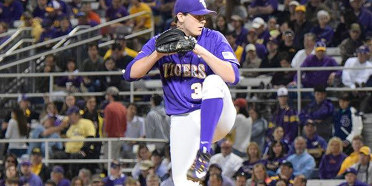 LSU ace named SEC Pitcher of the Week