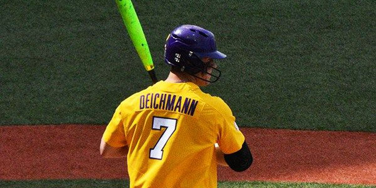 Greg Deichmann selected 43rd overall by Oakland A's
