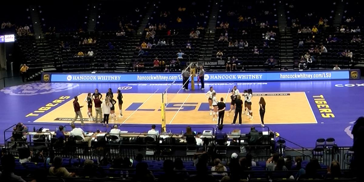LSU volleyball wins home opener over Mississippi State
