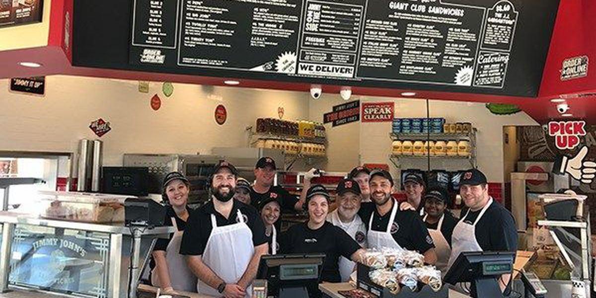 $1 sub returns at Jimmy John's on May 2 for Customer Appreciation Day