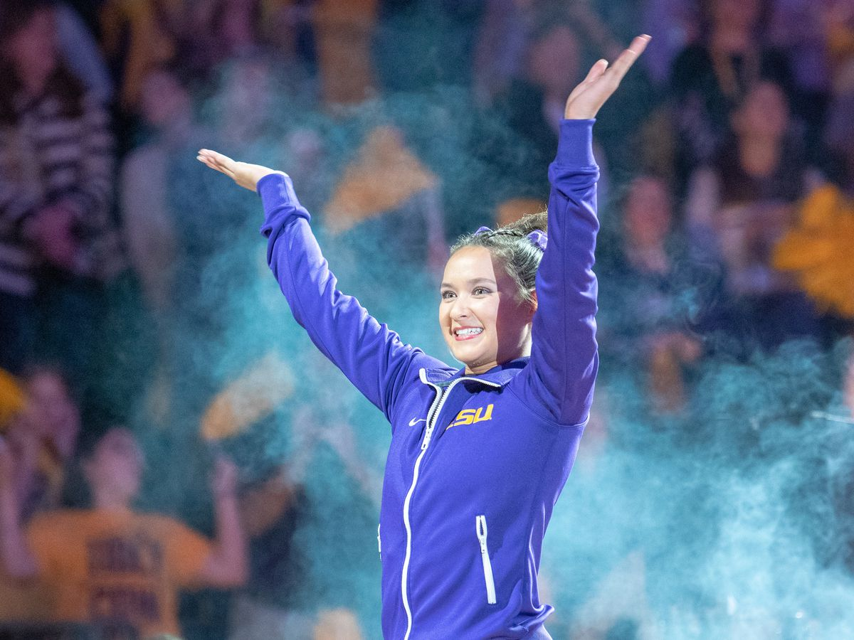 LSU gymnast Sarah Finnegan named nominee for AAI Award
