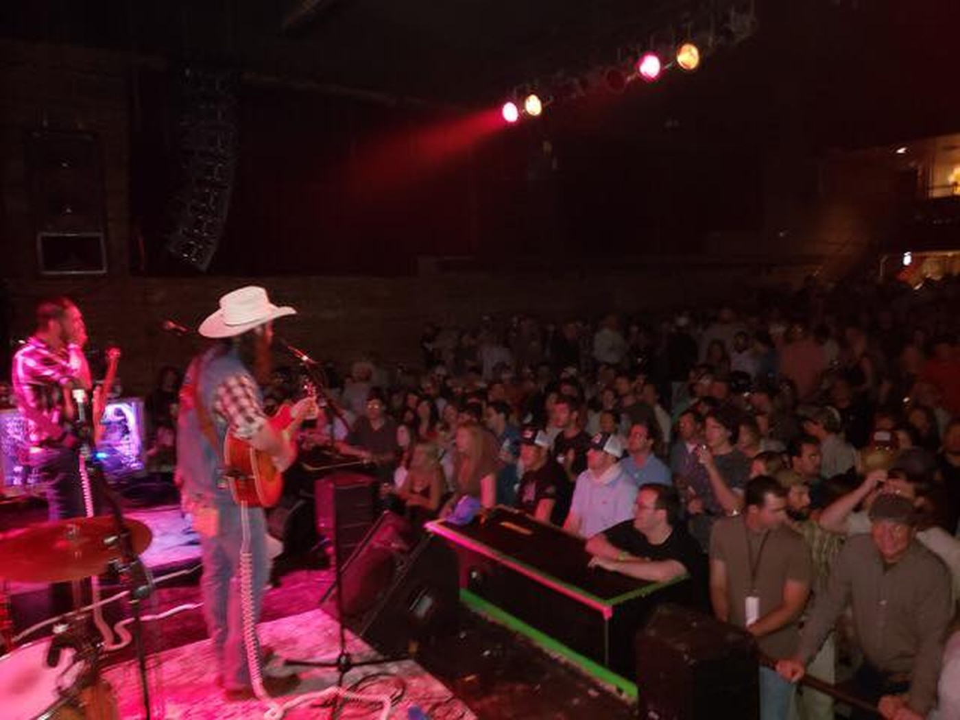 Dalton Wayne and the Warmadillos perform at one of Baton Rouge's largest music venues, The Varsity Theatre.