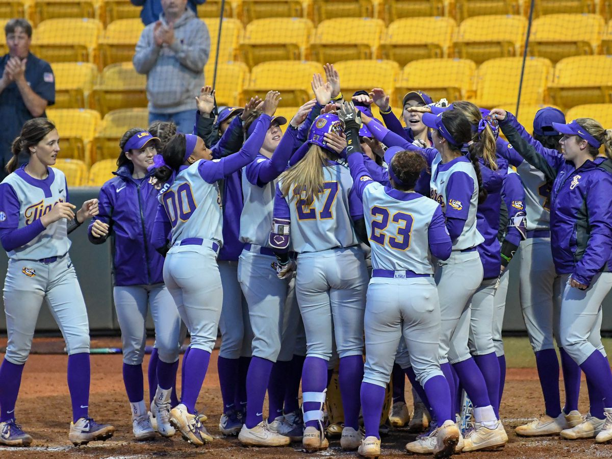 LSU softball faces Georgia on the road