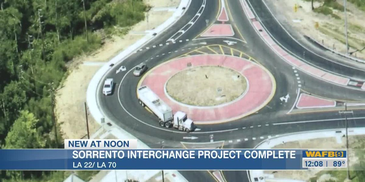 Sorrento interchange project completed