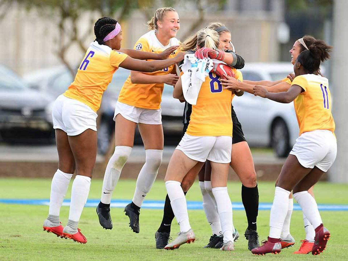 LSU soccer advances to NCAA second round on PKs