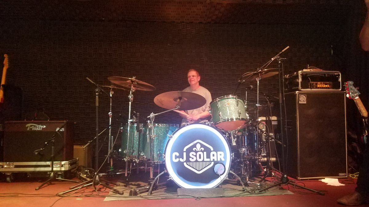 Drummer realizes dream on the football field