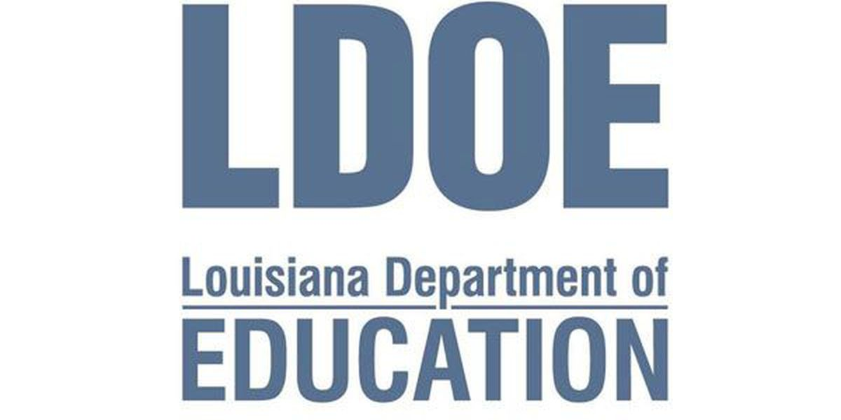 La. Dept. of Education announces 2015 Principal and Teacher of the Year