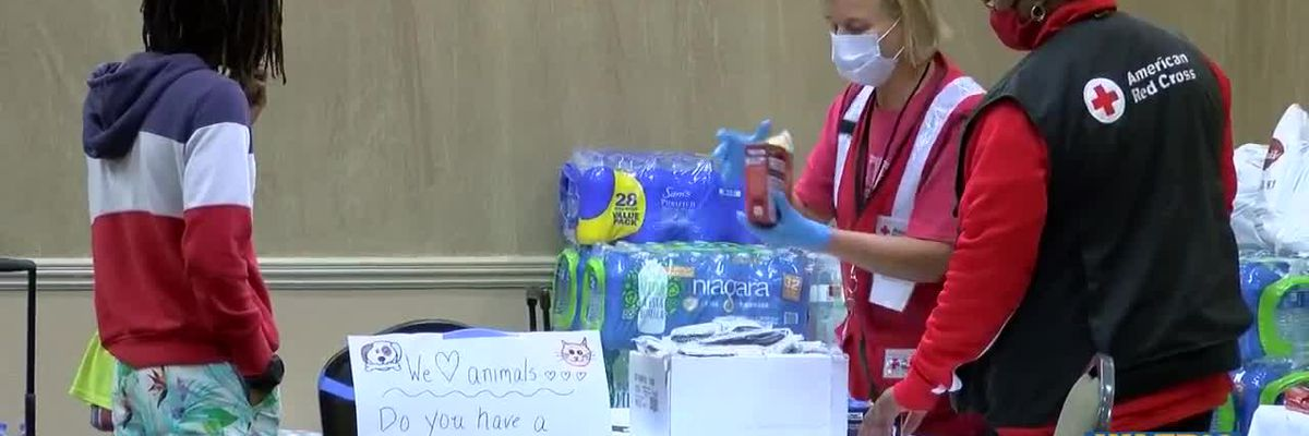 Evacuees from southwest Louisiana remain in Baton Rouge almost a month after Hurricane Laura