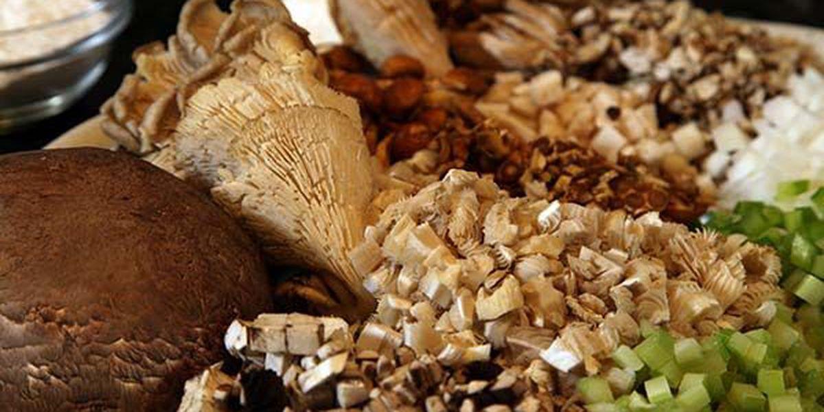 Wild Mushroom and Crab Bisque