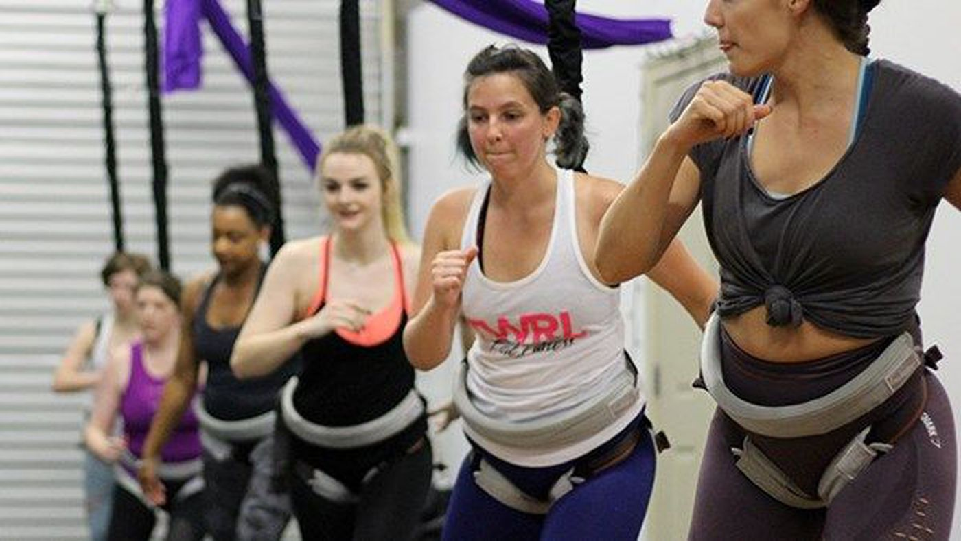 New Bungee Workout lets fitness class take flight