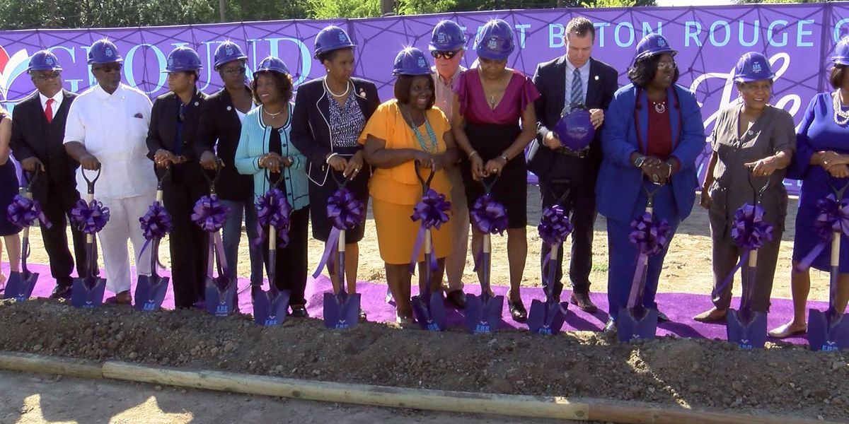EBR Council on Aging holds groundbreaking of new kitchen, administrative building