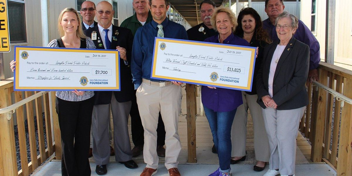 Lions Club gives grants to Livingston Parish schools
