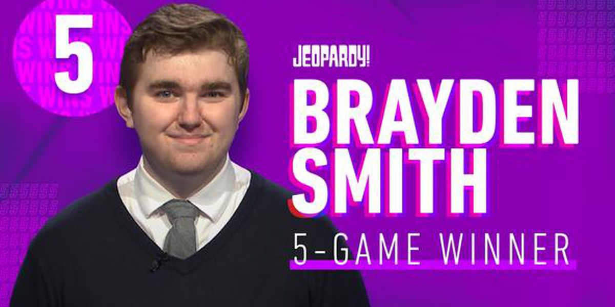 Jeopardy! champ Brayden Smith dies at 24
