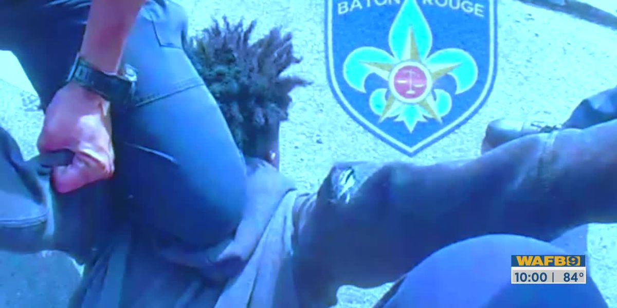 BRPD chief says officer's knee was on teen's back not neck; Family attorney still questions procedure