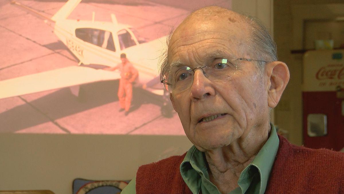 La. man celebrates 50th anniversary of world record flight
