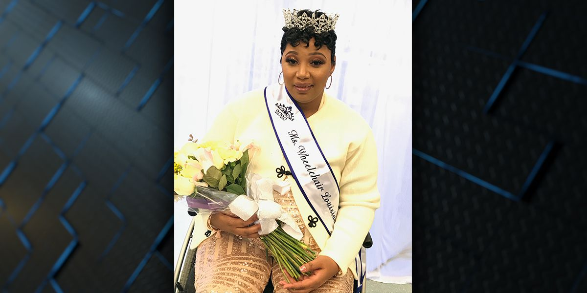Baton Rouge woman crowned Ms. Wheelchair Louisiana 2020