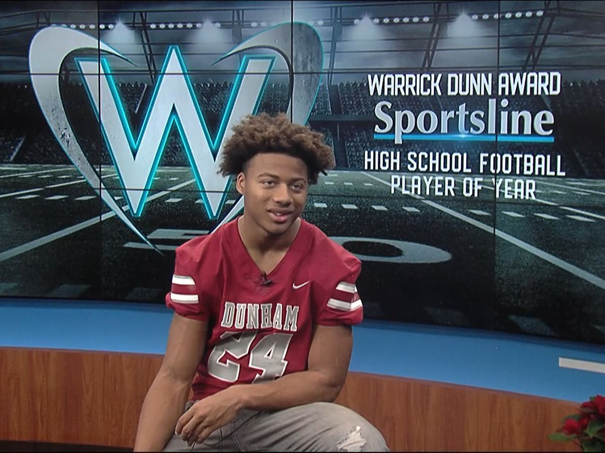 WARRICK DUNN FINALIST: Derek Stingley Jr. - Dunham DB, WR, KR