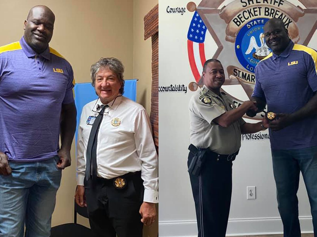 Shaq named special reserve sheriff's deputy in La. parish