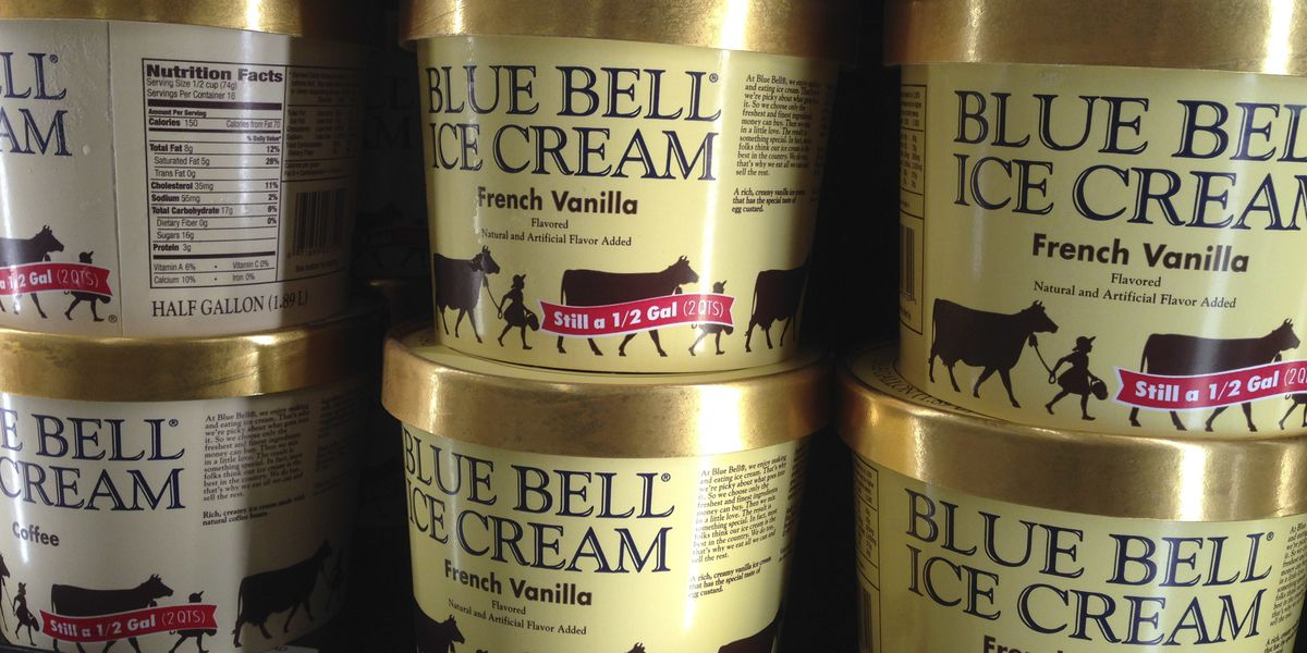 Video shows woman licking tub of Blue Bell ice cream then returning it to store shelf